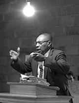 Service in black church