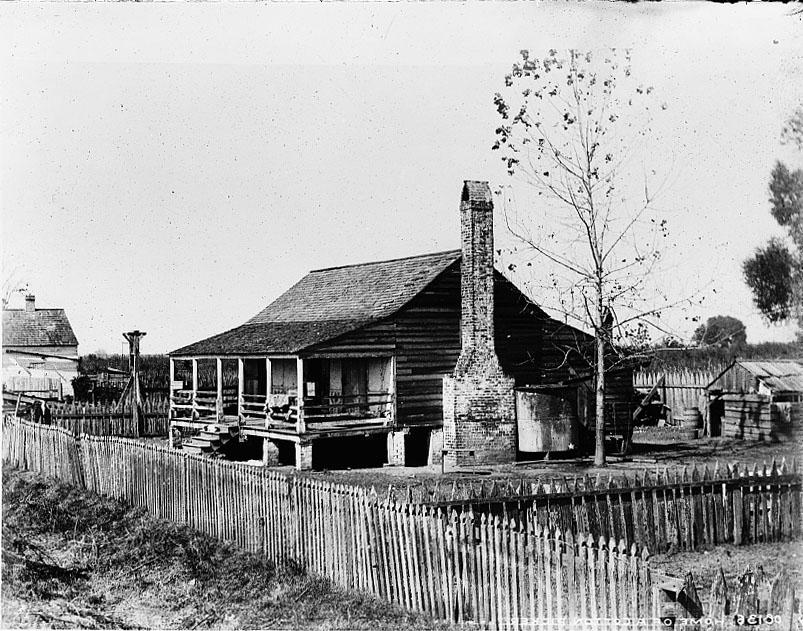 Home of cotton picker