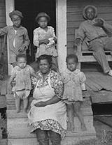 Tenant Family on Their Porch