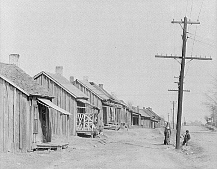 Street in Negro Quarter