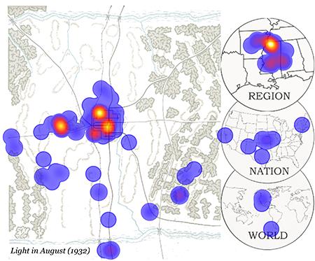 Light in August Heatmap