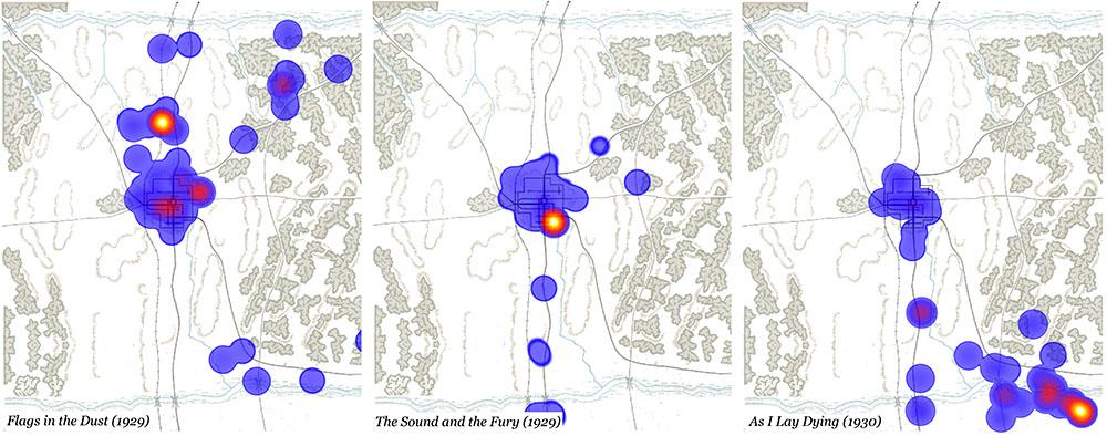 3 Spatial Heatmaps