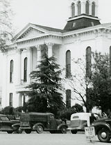 Courthouse from northwest corner of Square