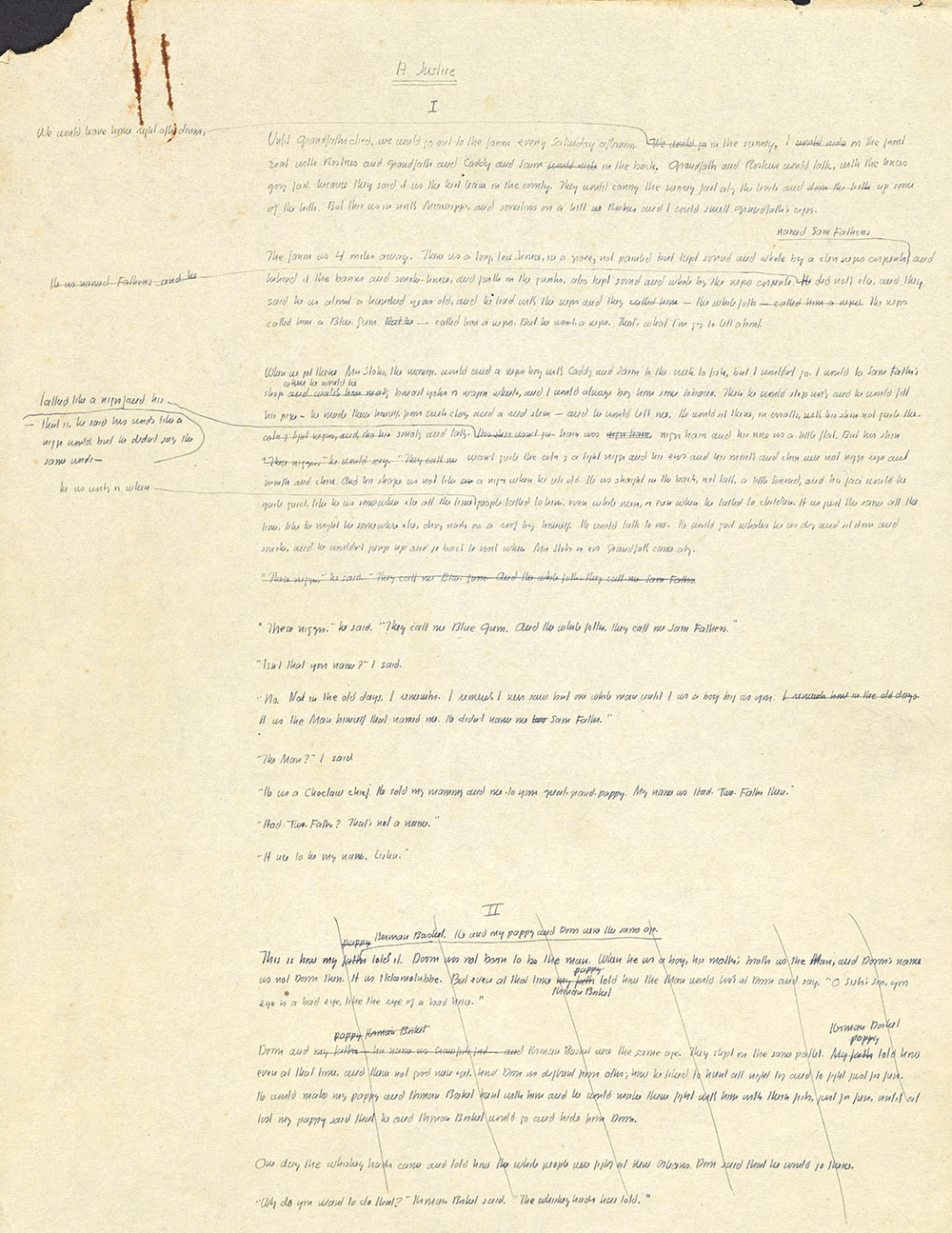 Page 1, A Justice Ms