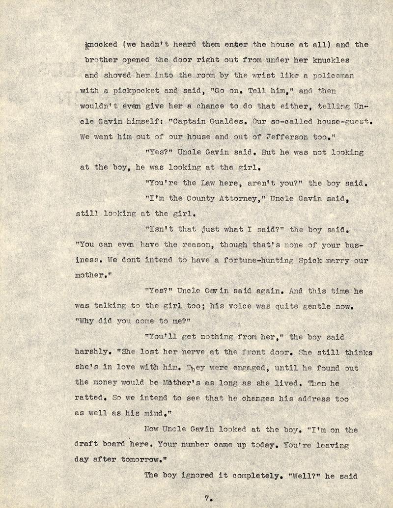 Page 7, Knight's Gambit Ts