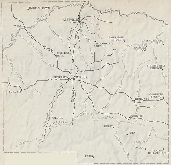 Faulkner's Maps Homepage on