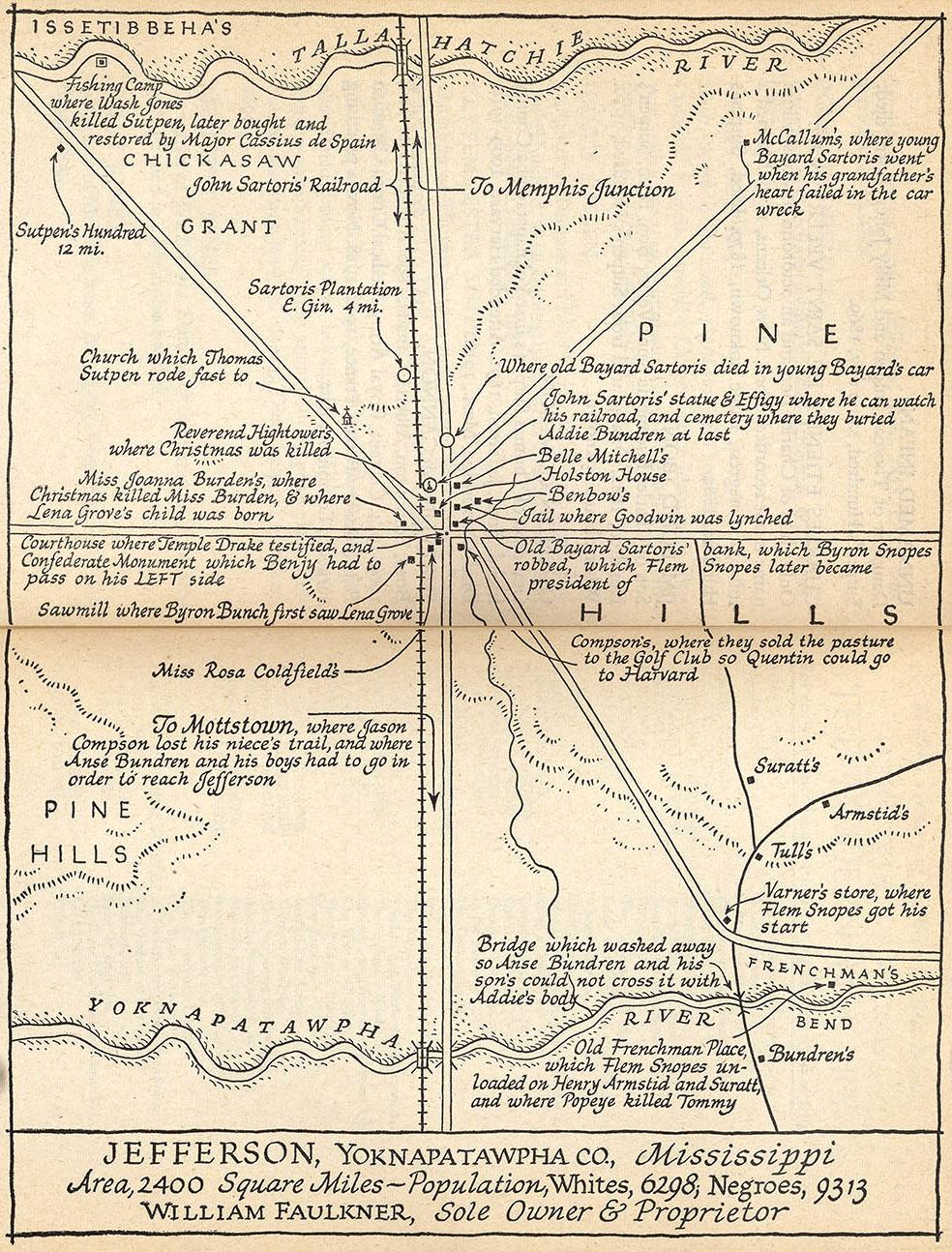 1951 Absalom Map