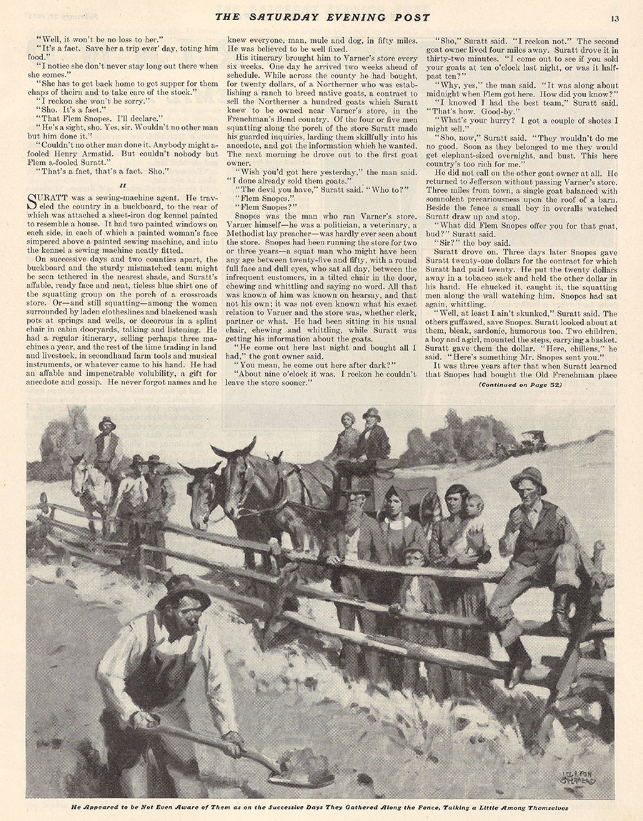 Page 13, 27 February 1932 Saturday Evening Post
