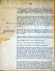 Page 1, Wash Revised Complete Holograph Manuscript