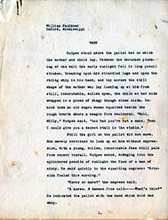 Page 1, Wash Carbon Typescript